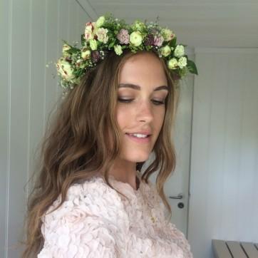 Beauty - flower crown