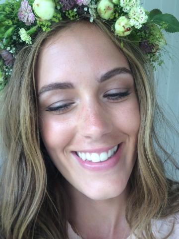 Beauty -flower crown