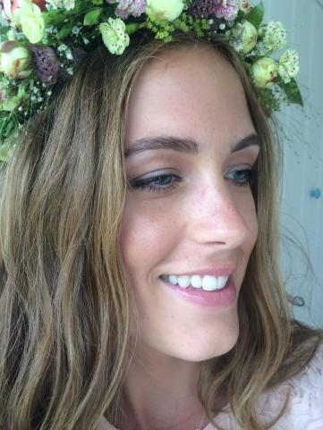 Beauty-flower crown