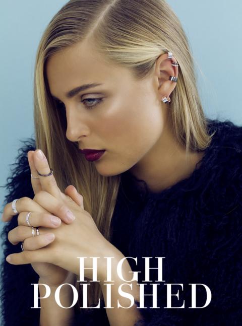 HVISK Jewellery, summer 2015. High polish collection.