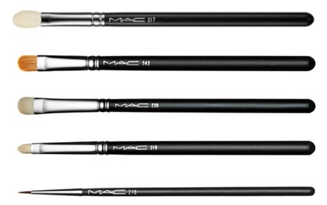 MAC brush, 210, 239, 242, 217 , 219