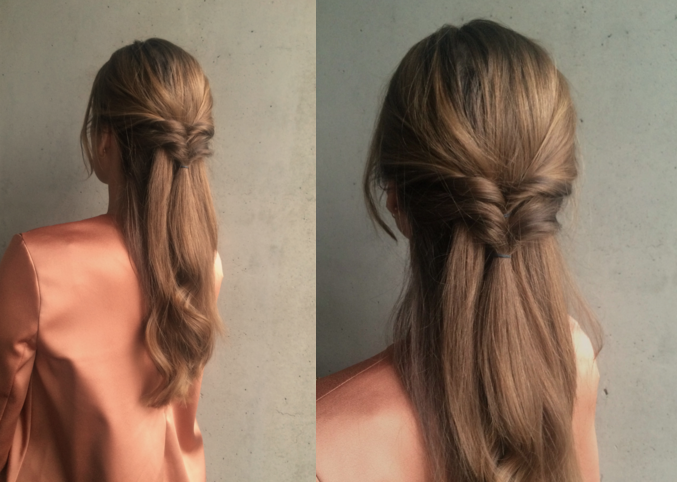 simple hair.uupdo