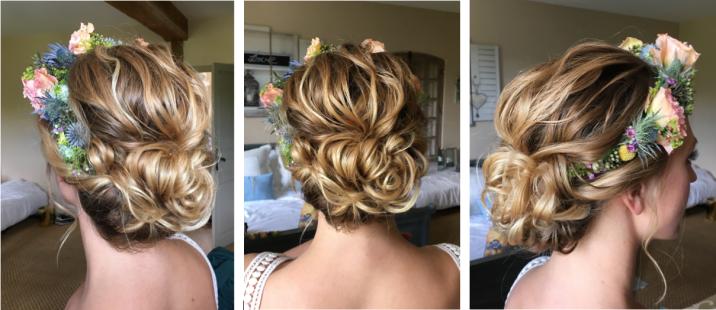 Hair & makeupartist Trine Juel, Wedding Julia 36